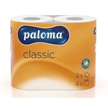 Toaletný papier Paloma 2-vrstvový, biely