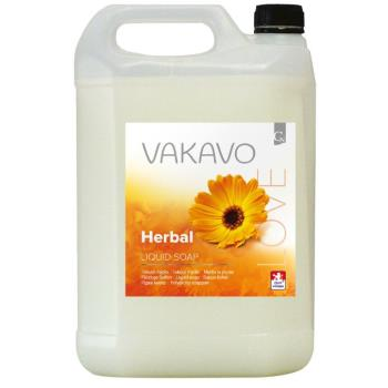 Tekuté mydlo VAKAVO LOVE Herbal 5l biele