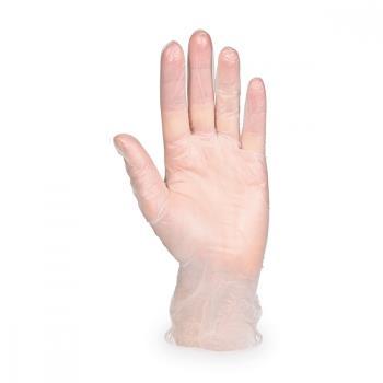 Vinylové rukavice BIELE  veľkosť S, NEPUDROVANÉ,100ks/bal.