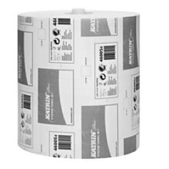 Papierová rolka 2vr KATRIN SYSTEM PLUS 100m, biela
