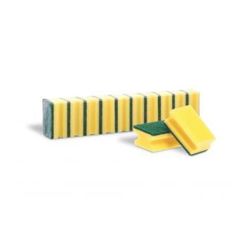 Špongia tvarovaná na riad 10ks/bal