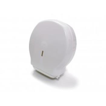 Zásobník toaletného papiera JUMBO - 19 cm, biely