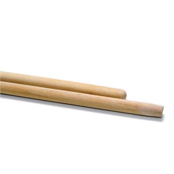 Drevená násada (rúčka) bez závitu, 130 cm
