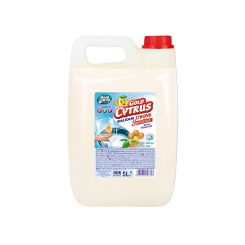 GOLD CYTRUS - balzám na riad, GREEN TEA & MILK-HONEY, 5L