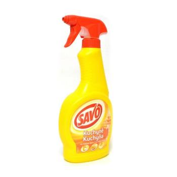 SAVO - Kuchyňa tekutý čistič rozprašovač 500 ml