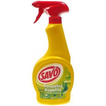 SAVO Kúpelňa tekutý čistič s rozprašovačom 500ml