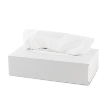 Papierové kozmetické  utierky v krabičke 100 ks/bal