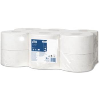 Tork Advanced toaletný papier – Mini Jumbo, 2-vrstvový, 170 m