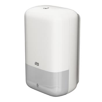 Tork Folded zásobník na skladaný toaletný papier – biely plast