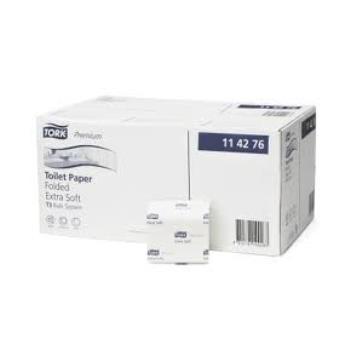 Tork Folded extra jemný toaletný papier Premium, skladaný