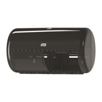 Tork zásobník na toaletný papier – konvenčný kotúč,čierny plast