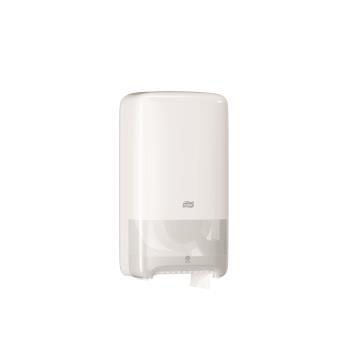 Tork Mid-size Twin zásobník na toaletný papier, biely