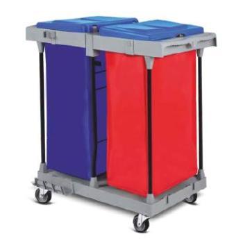 Hotelový vozík pre zber odpadu alebo bielizne