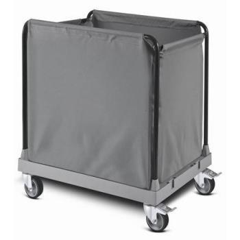 Hotelový vozík na prádlo - stredný