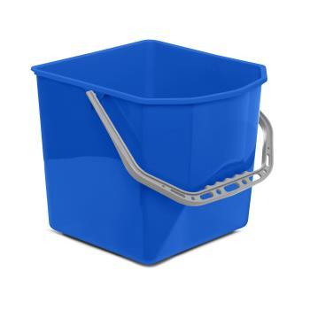 Vedro na upratovací vozík 25L - modrérozlíšenie
